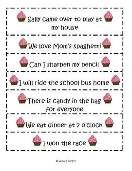 Sentences Activity Set
