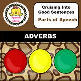 Adverbs Speech Therapy Activity Safari Theme