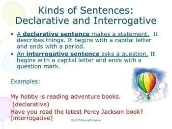 Sentences: All About Sentences PowerPoint TEST PREP