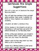 Sentences Are Simple {Writing Center}