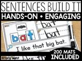 Sentences Build It