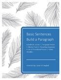 Sentences Build a Basic Paragraph!