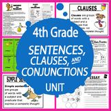 Simple, Compound, & Complex Sentences Activities–Combining Sentences Worksheets