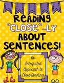 Sentences Close Reading: An Interdisciplinary Approach to Close Reading