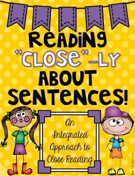 Sentences Close Reading: An Interdisciplinary Approach to Close Reading