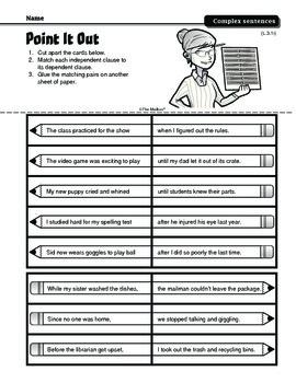 Sentences (Common Core L.3.1i)