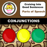 Conjunctions Speech Therapy Activity Safari Theme