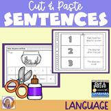 Distance Learning Sentences: Cut & Paste