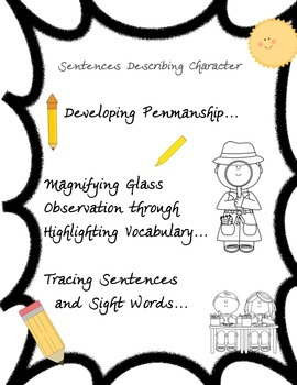 Tracing Sentences+Highlighting and Sight Words