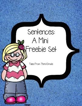 Sentences FREEBIE