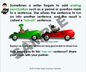 Fragments, Run-ons, & Sentences Bundle/ CCSS Aligned 4th Grade Up