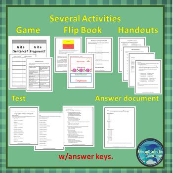 Sentences & Fragments Unit