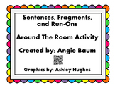 Sentences, Fragments, and Run-Ons Scoot/Around The Room