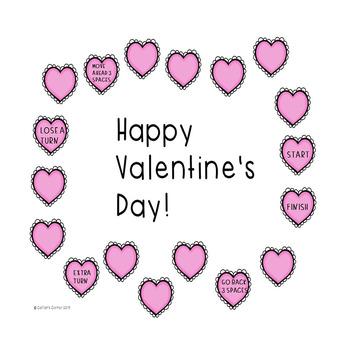 Valentine's Day Sentences Game