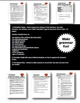 Sentences – Grammar Circles for easy and effective grammar