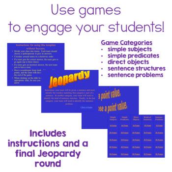 Sentence Review Trivia Game Show