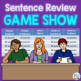 Sentence Review Trivia Game Show