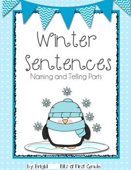 Sentences Naming and Telling Parts