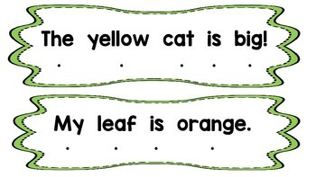 Sentences- One to one correspondence