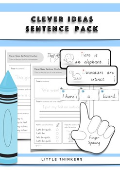 Sentences Pack: daily practice pages and hands-on resources