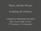 Sentences, Phrases, Clauses, Complements