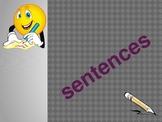 Sentences PowerPoint