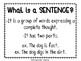 Sentences: Subject and Predicate