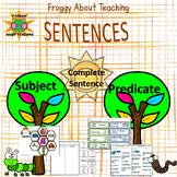 Sentences: Subject and Predicate