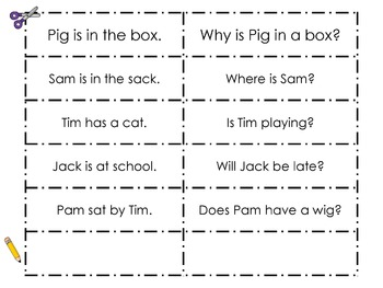 Sentences: Question Poster and Sort