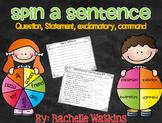 Sentences: Question, Statement, Command, Exclamatory