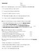 Sentences Quiz--IO/DO, Simple/Compound, Ind./Dep., Four types of Sentences