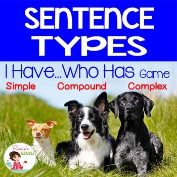 Sentences - Simple Compound Complex