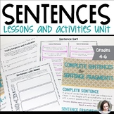 Sentences - Subjects, Predicates, Run-on, Compound, Comple