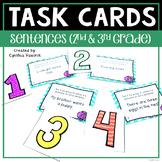 Sentences Task Cards