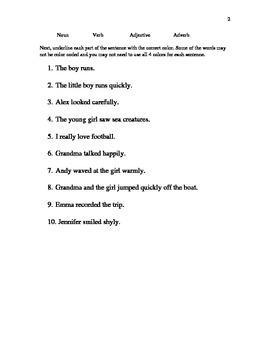 Sentences Test