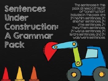 Sentences Under Construction: A Grammar Pack