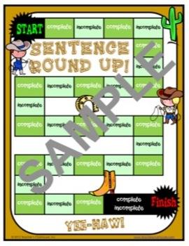 Sentences Unit from Teacher's Clubhouse
