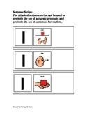 Sentences Visuals for Pronouns