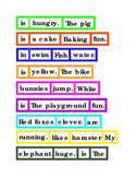 Sentences Word Order Critical Thinking Literacy Reading English Printable