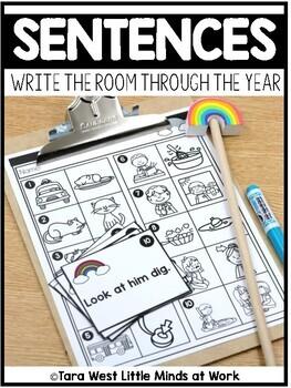 Sentences Write the Room