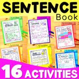 Sentences- Sentence Structure - Writing Sentences