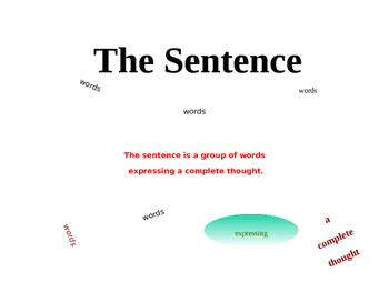 Sentences and Clauses