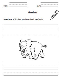 Sentences and Fragments (Hochman Method Aligned Resource for Elementary School)