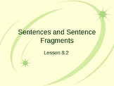 Sentences and Sentence Fragments Interactive Powerpoint Lesson