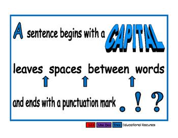 Sentences blue