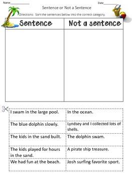 Sentences cut and paste
