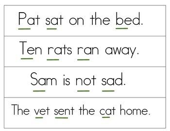 Sentences for Blending Practice