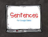 Sentences for Google Slides