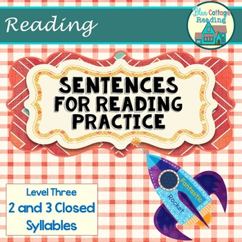 Sentences for Reading Practice Set 3