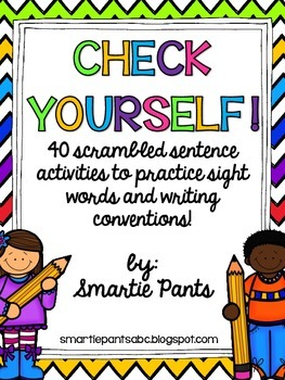 Sentences for Sight Word Recognition and Writing Conventions
